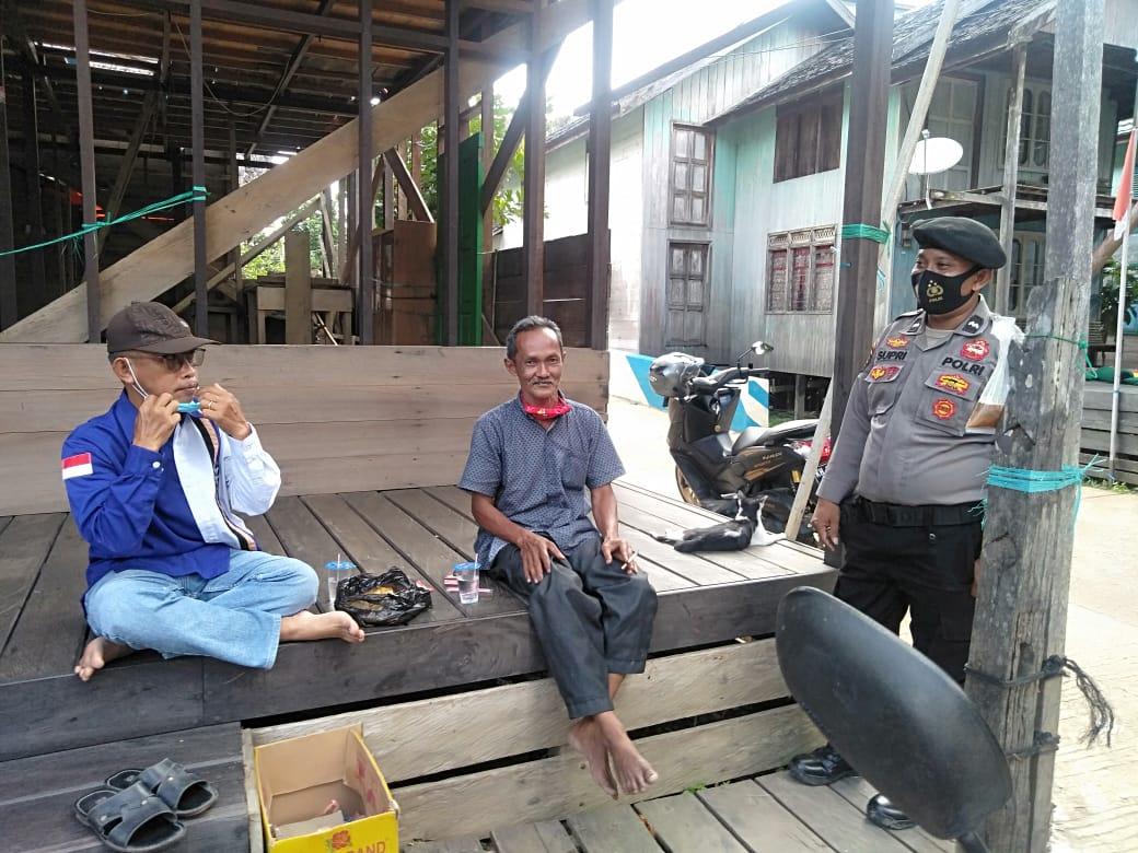 Jalin Silahturahmi, Aipda Sufri Sambangi Warga Lahei II