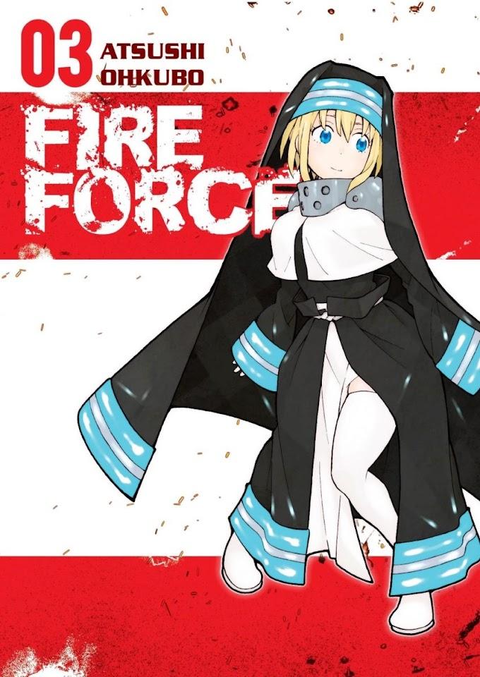 Nie czas żałować dusz, gdy płonie też antagonista - recenzja mangi Fire Force (tomy 2-3)