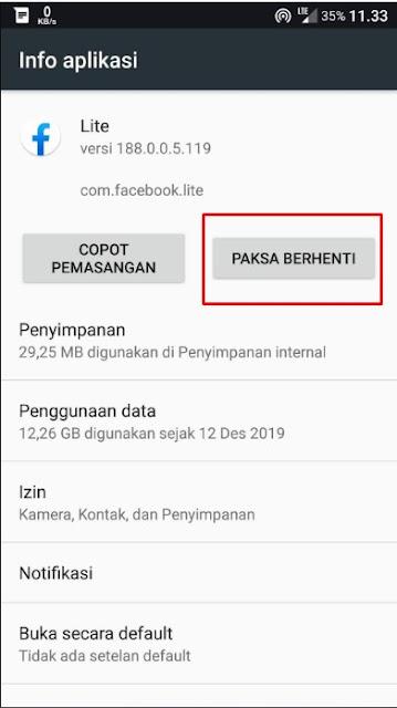 Cara Mudah Atasi Facebook Lite Error Terbaru 2020