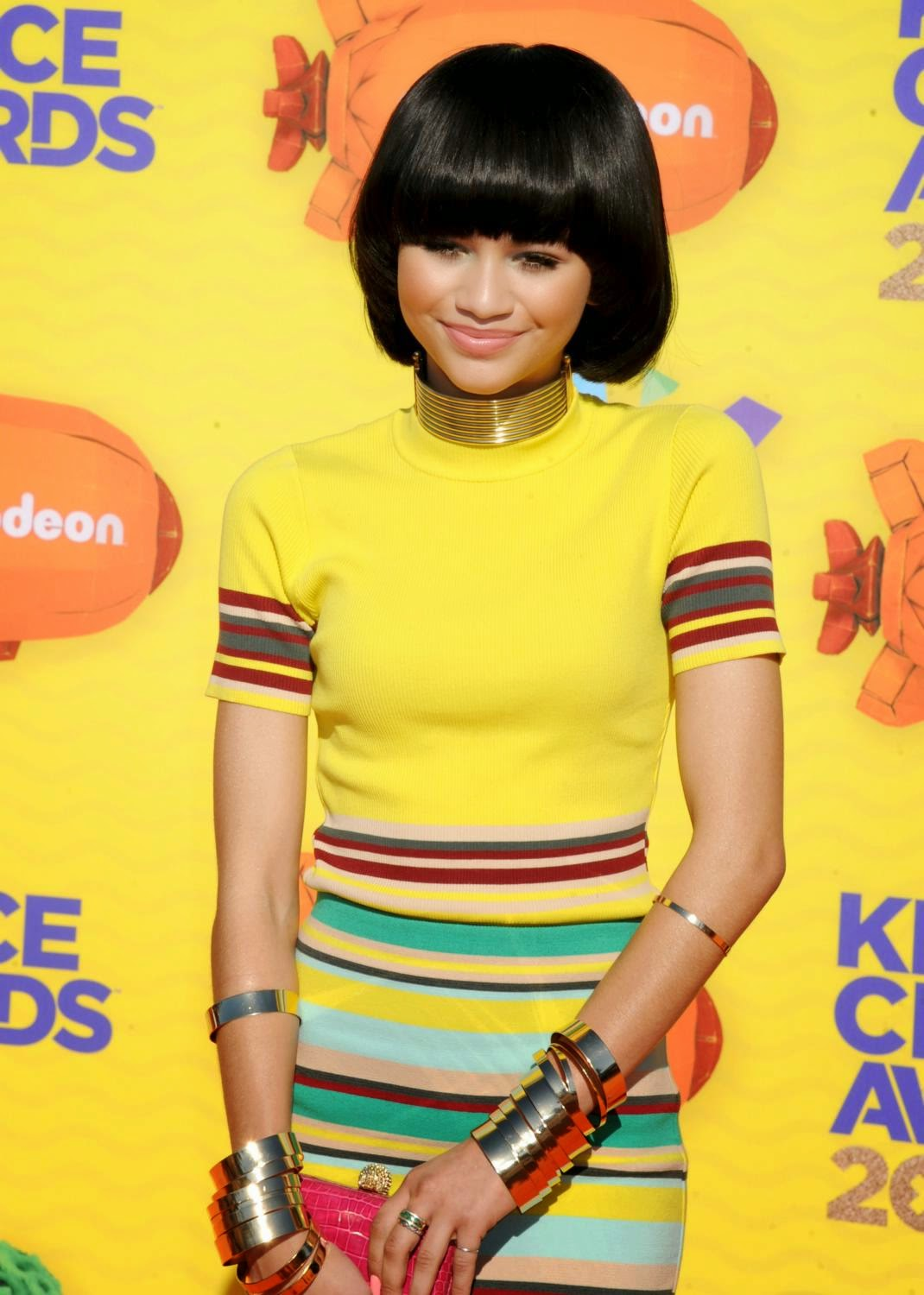 Zendaya at The 28th Annual Kid's Choice Awards