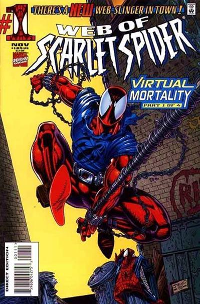 La Araña Escarlata (Scarlet Spider) es el clon de Spiderman