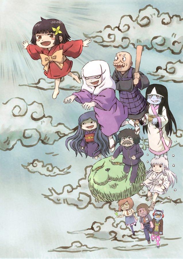 Anime Komedi Zashiki Warashi no Tatami-chan Akan Debut 10 April