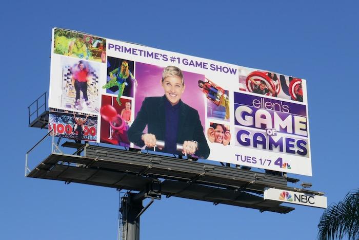 Ellens Game of Games season 3 billboard