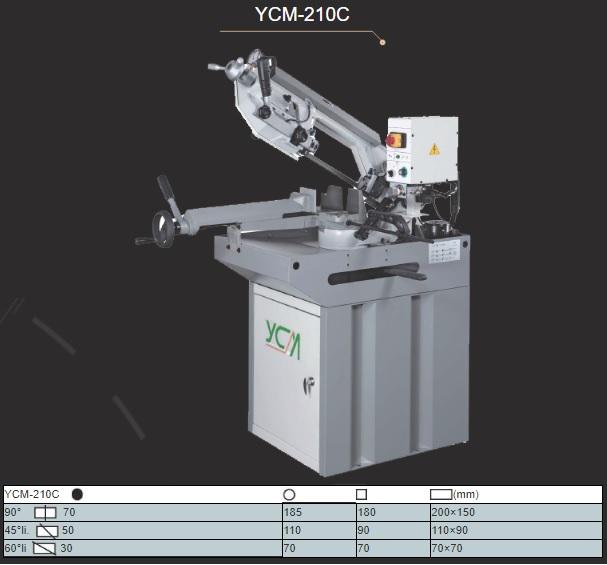 Hình ảnh máy cưa vòng ycm 210c