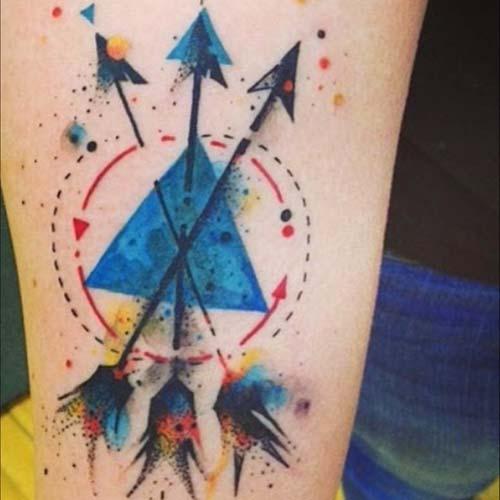 ok dövmeleri arrow tattoos 22