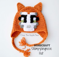 Stampy Hat Pattern by Over the Apple Tree