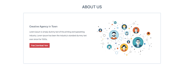 About Section on Creative Agency Website
