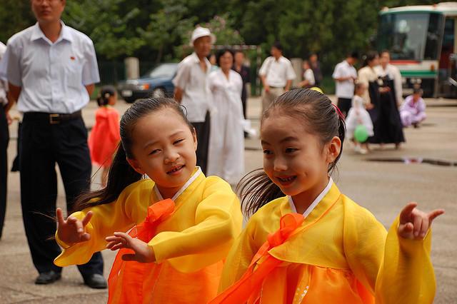North Korean kids
