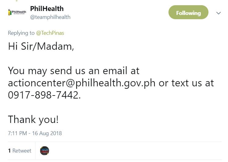 Philhealth Membership, Philhealth Customer Hotline Number, Philhealth Email, Philhealth SMS Hotline