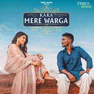 Kaka Mere Warga Lyrics Status Download Punjabi Song Dhupa vich khadya na kar ni hoju kala rang mere warga WhatsApp video black background.