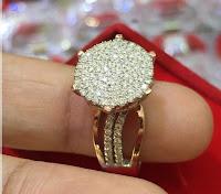 Jual Cincin Berlian Eropa Fashion