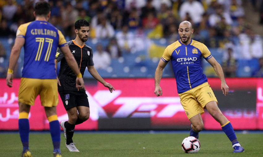 نتيجة مباراة النصر والشباب بتاريخ 13-09-2019 الدوري السعودي