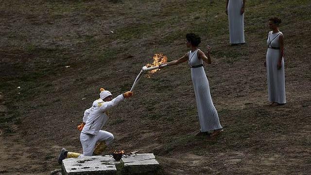 Έκτακτο: Ακυρώθηκε η λαμπαδηδρομία της ολυμπιακής φλόγας