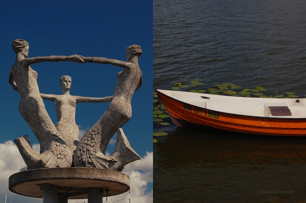 Ostróda, jezioro Drwęckie