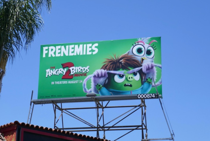 Frenemies Angry Birds Movie 2 billboard