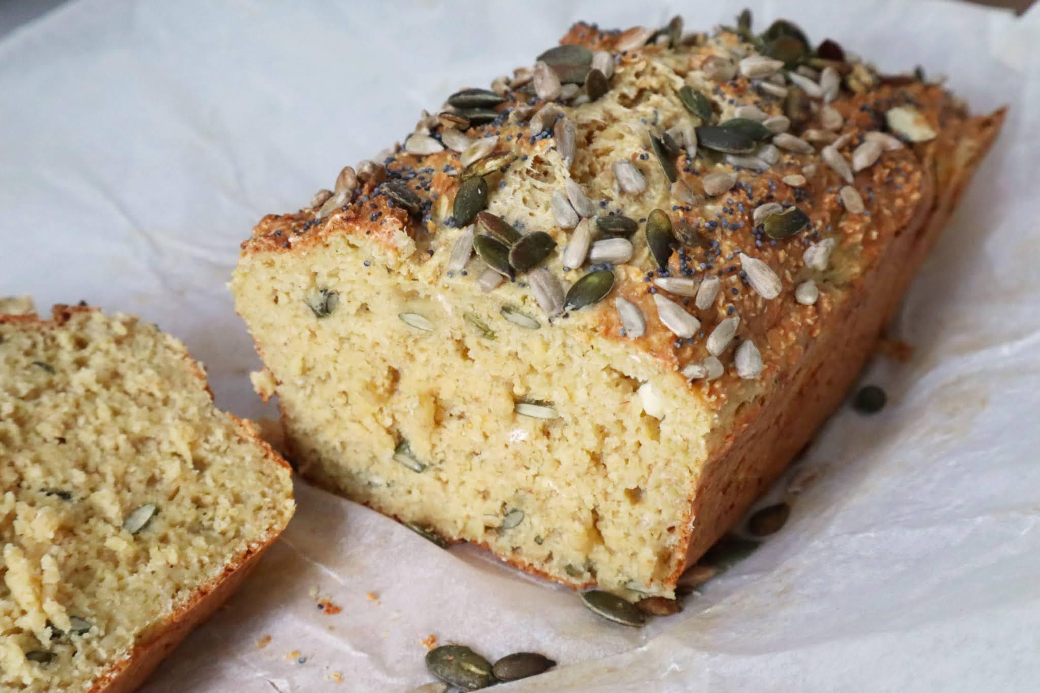 glutenfritt bröd utan ägg