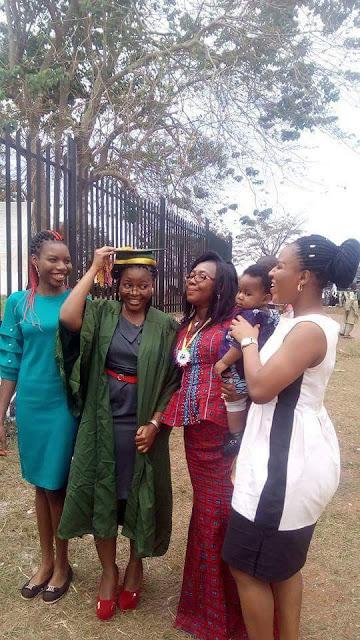 Photos: With CGPA of 4.90, Chinasa Ufondu emerges UNN best graduating student