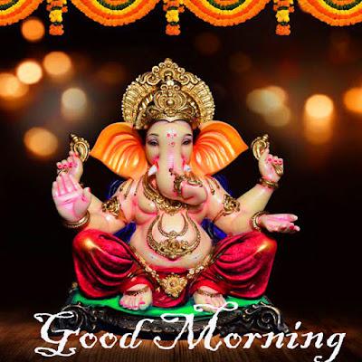 Ganesh Ji Good Morning Images and Status in Hindi