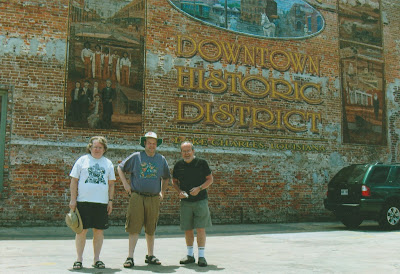 Alan, Brian and John in Lake Charles.