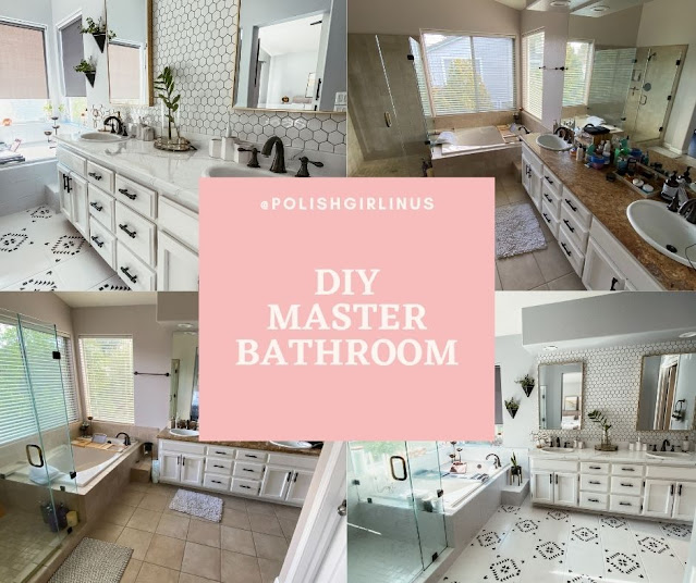 OUR MASTER BATHROOM DIY PROJECT!