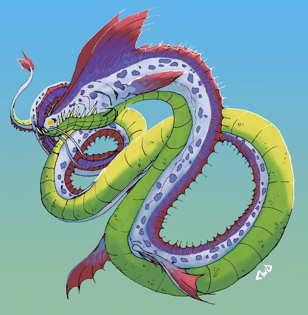 A Sea Dragon