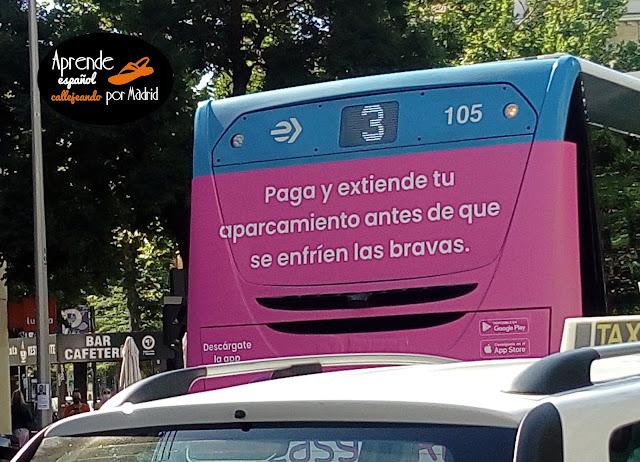 Aprende español callejeando: Antes de que se enfríen las bravas