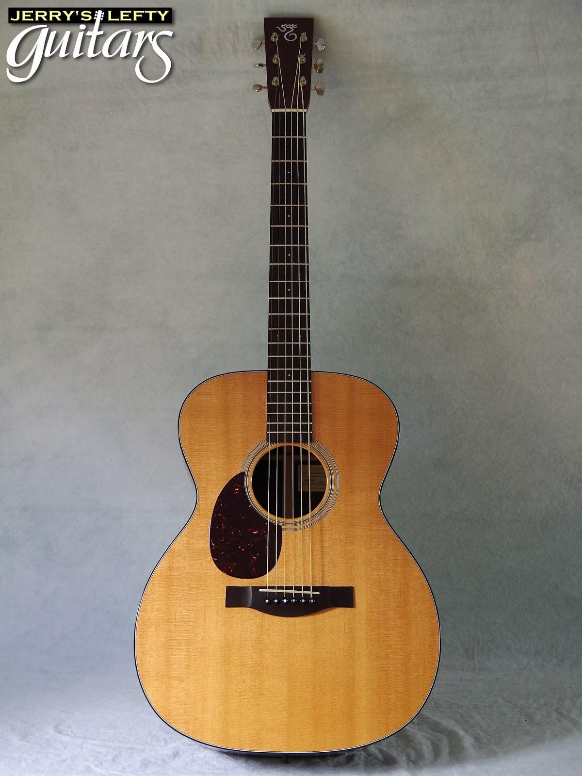 jerry 39 s lefty guitars newest guitar arrivals updated weekly santa cruz om pwr used left. Black Bedroom Furniture Sets. Home Design Ideas
