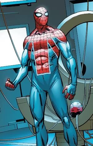 Versión de Spiderman y Capitán Britania