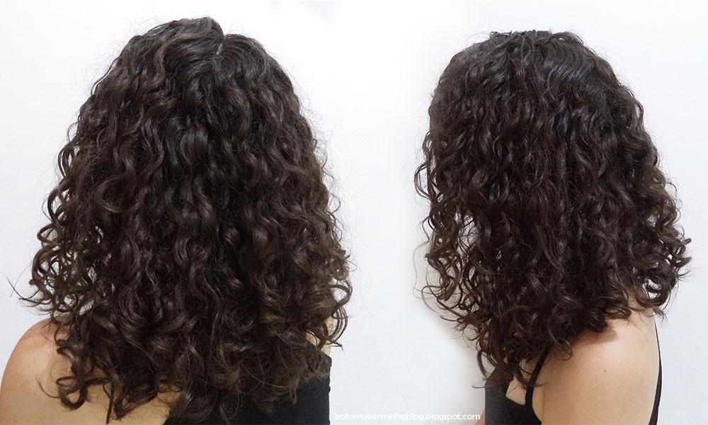 cabelo ondulado finalização salon line