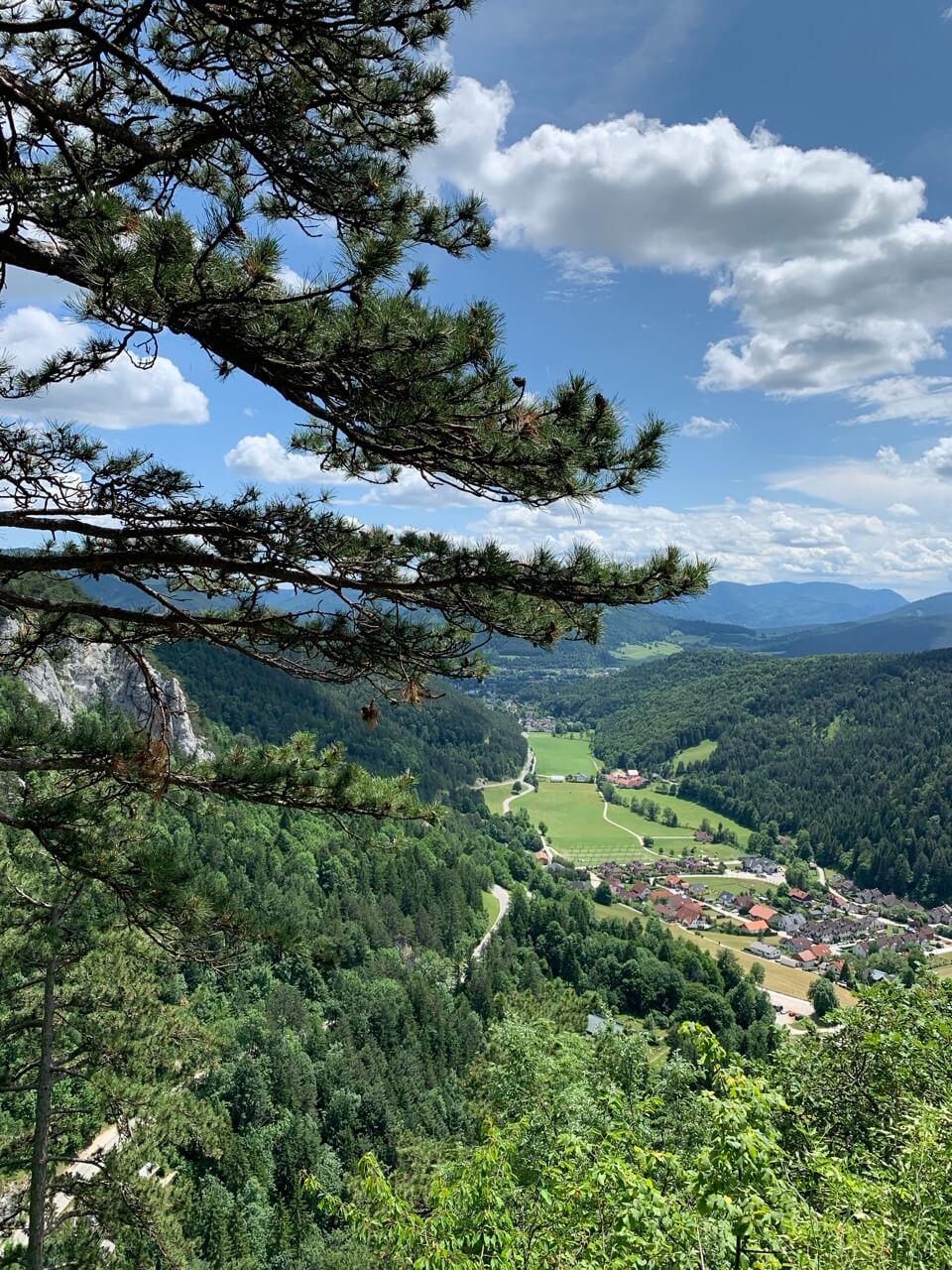 Myrafälle in Muggendorf, Niederösterreich