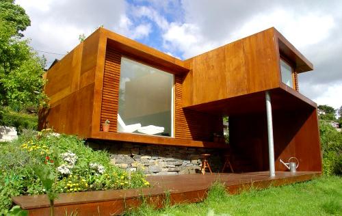 Model Desain Rumah Kayu Minimalis Sederhana Berbagai Keren
