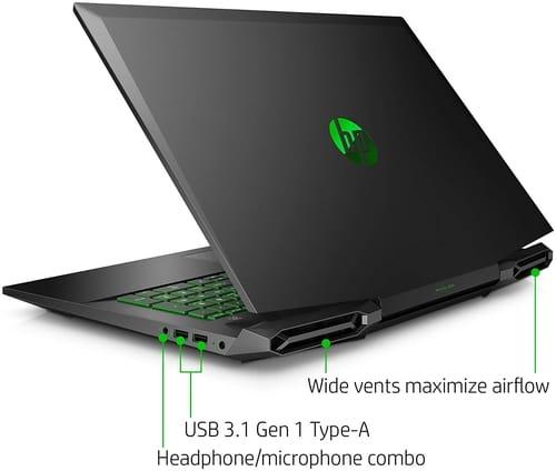 Review HP Pavilion 17-cd0020nr Gaming Laptop