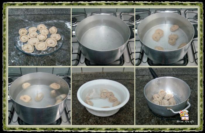 Capeletti com recheio de ricota, espinafre e castanha do Pará 7