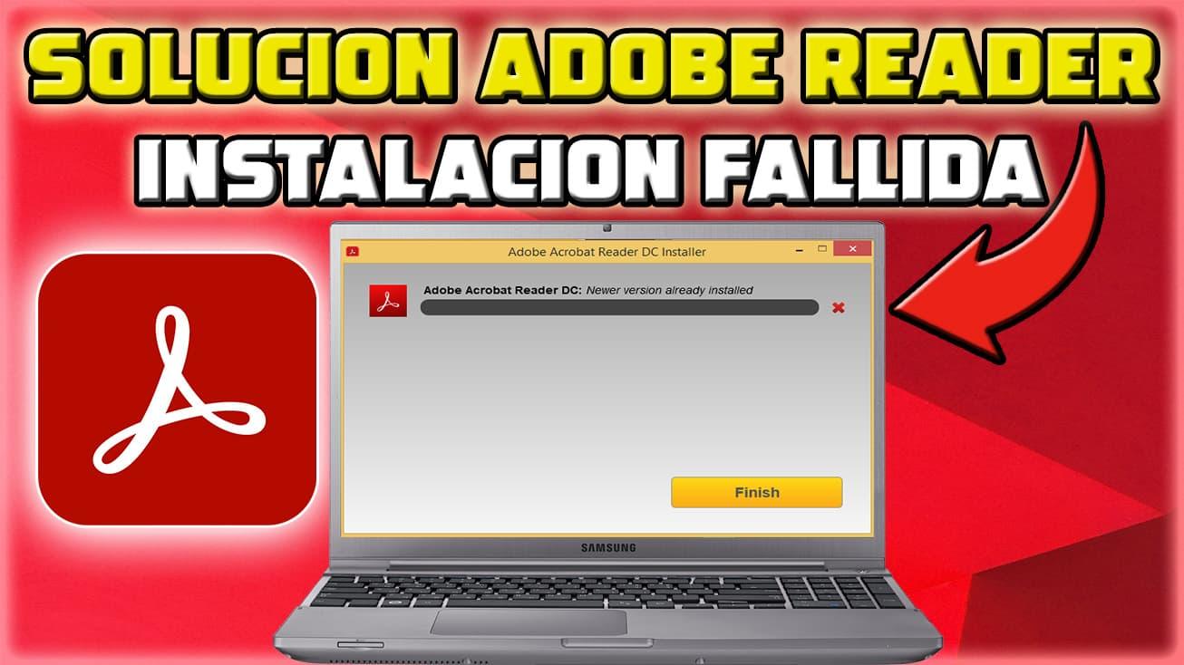 Como instalar Adobe reader tiene instalada una versión mas reciente
