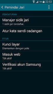Harga Samsung J Series Bersensor Sidik Jari