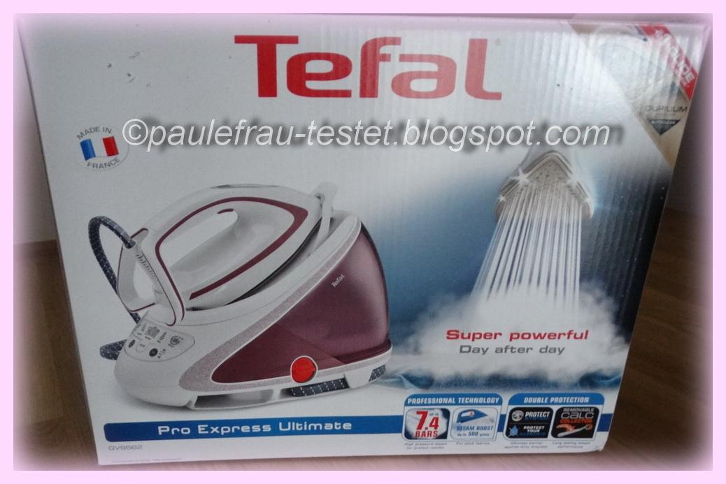 Beliebt Paulefrau´s Testblog: Produkttest Tefal Dampfbügelstation Pro WI46