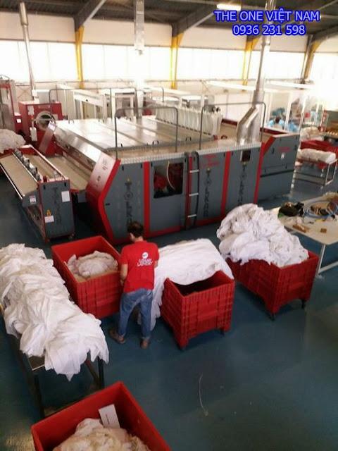 Máy giặt công nghiệp cho trường đại học