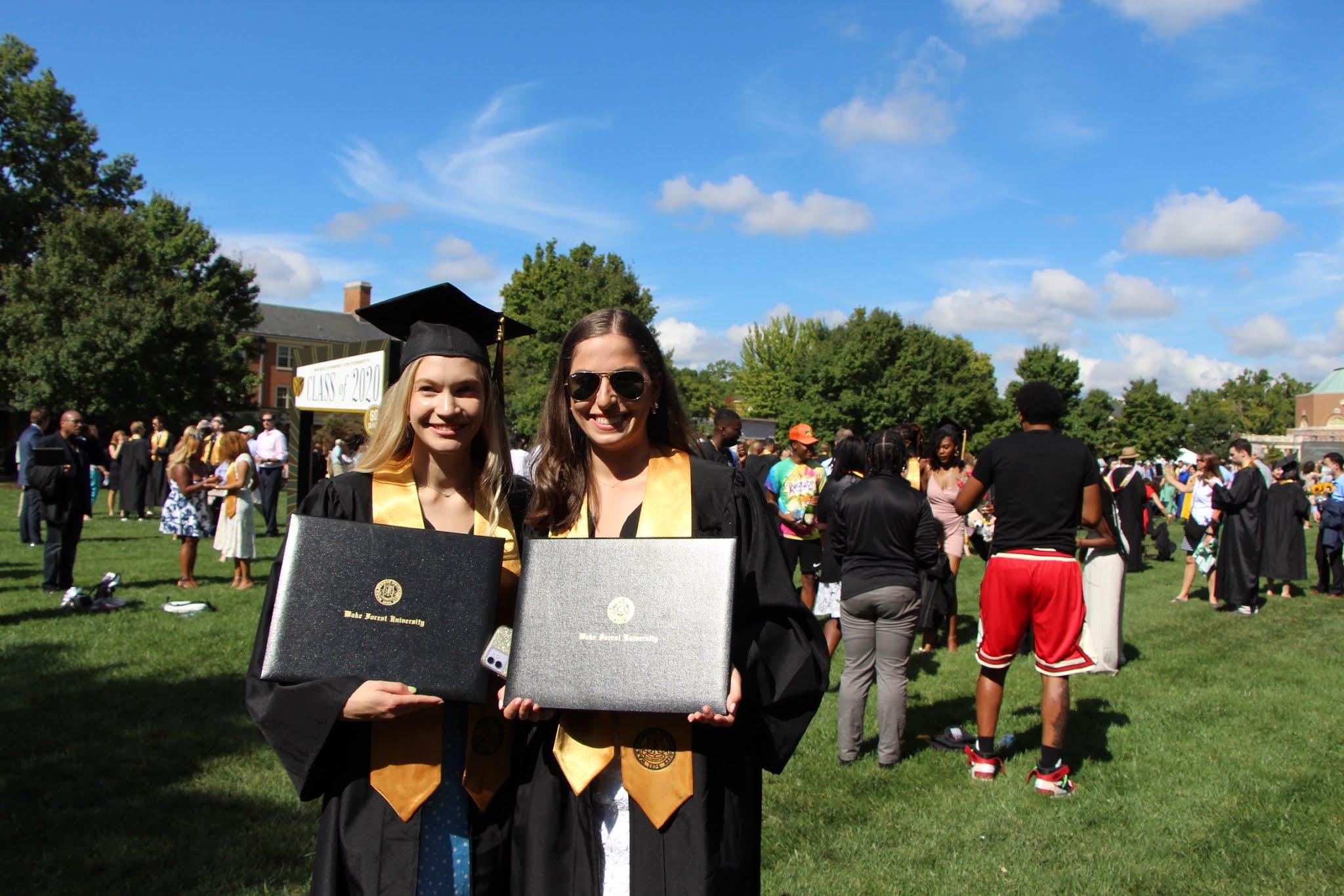 graduation, wake