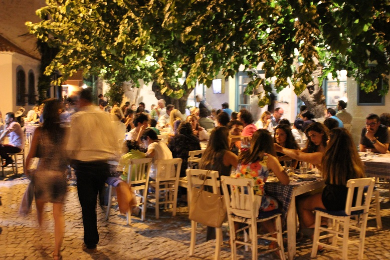 Nightlife In Alacati Cesme People S Lives