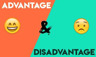 Blogger Advantage and Disadvantage