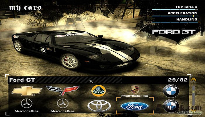 Need For Speed Most Wanted Black Edition Full Version