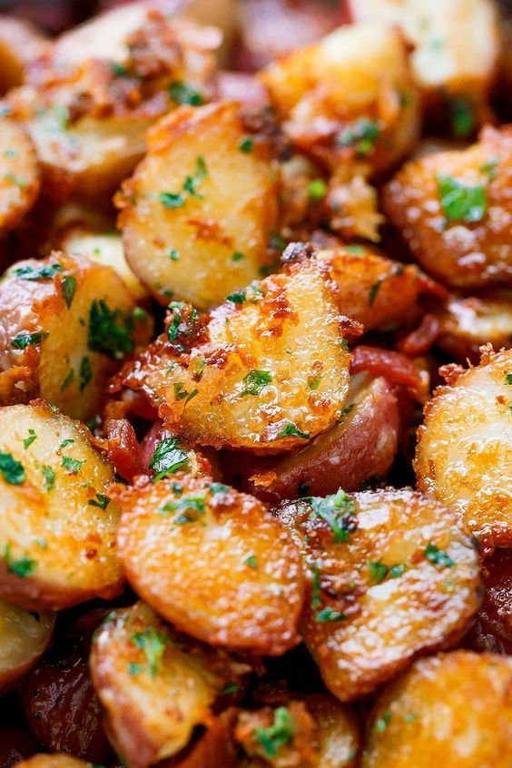 Parmesan Roasted Potatoes Recipe