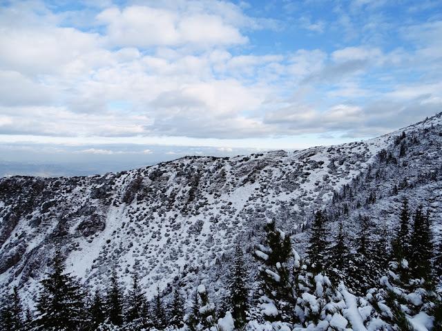 Widok ze szlaku na Halę Gąsienicową