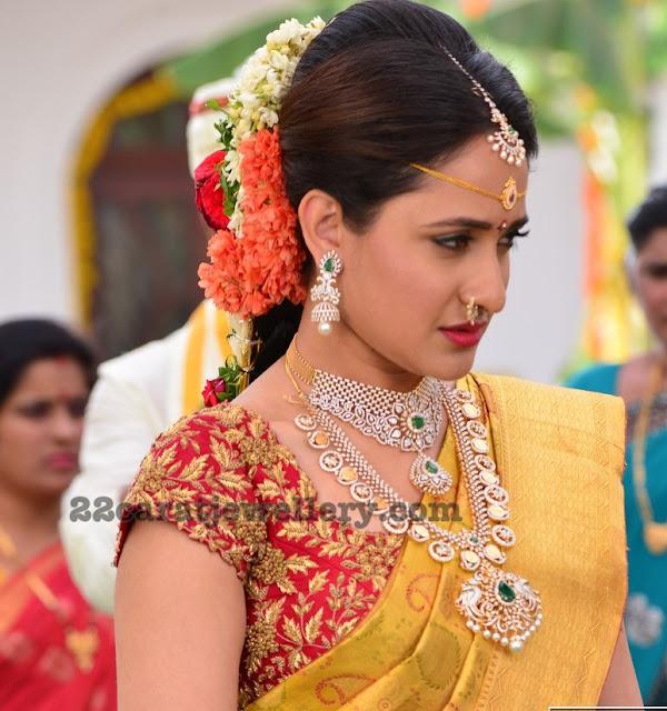 Pragya Jaiswal Diamond Jewellery