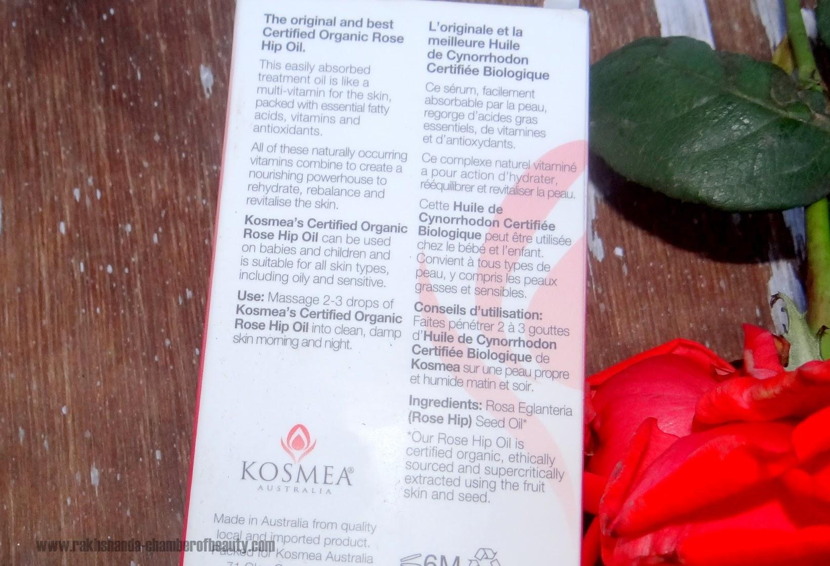 Kosmea Australia Rose Hip Oil-Review