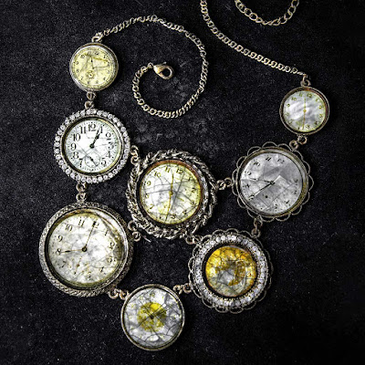 Antique coin pattern jewelry