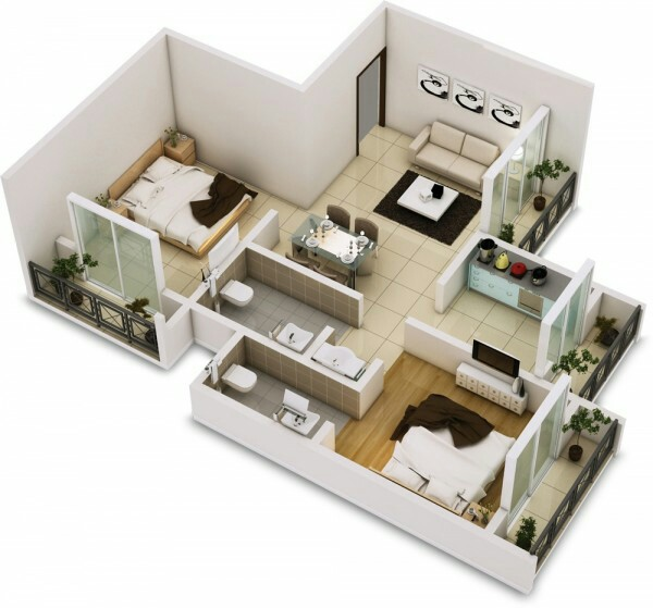 small home design 3d image