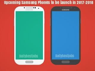 Upcoming Samsung Phones