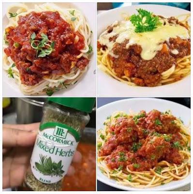 Resepi Spaghetti Bolognese Simple