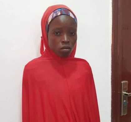Nigerian military rescues schoolgirl abducted by Boko Haram in 2014